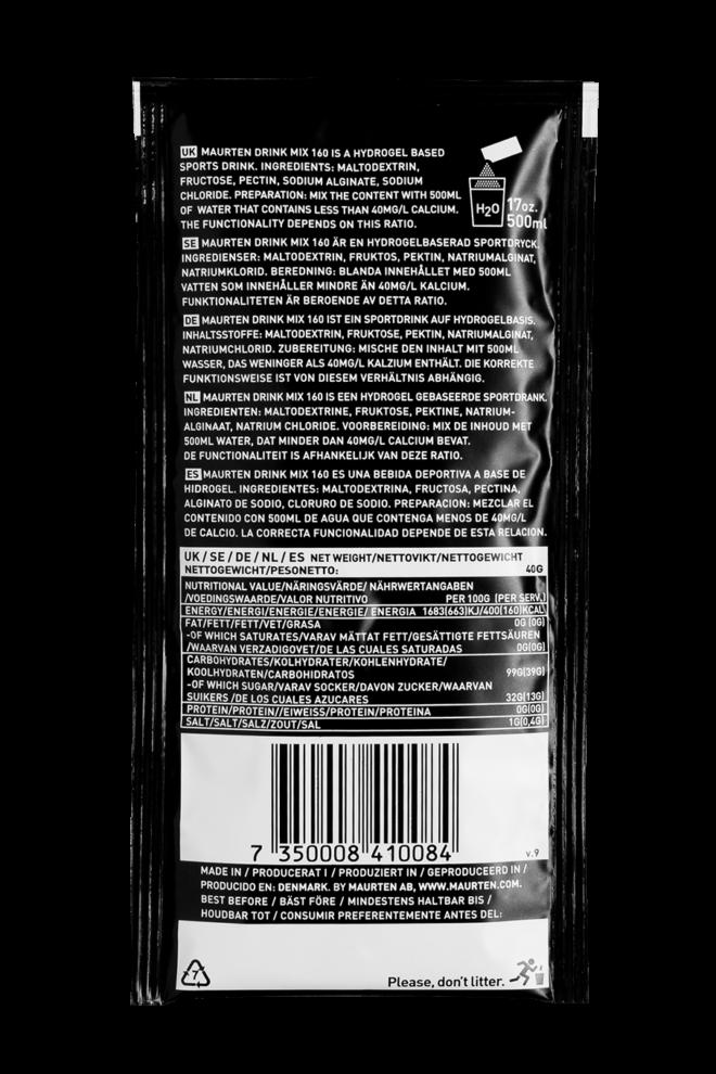 Maurten Drink Mix 160 pack back